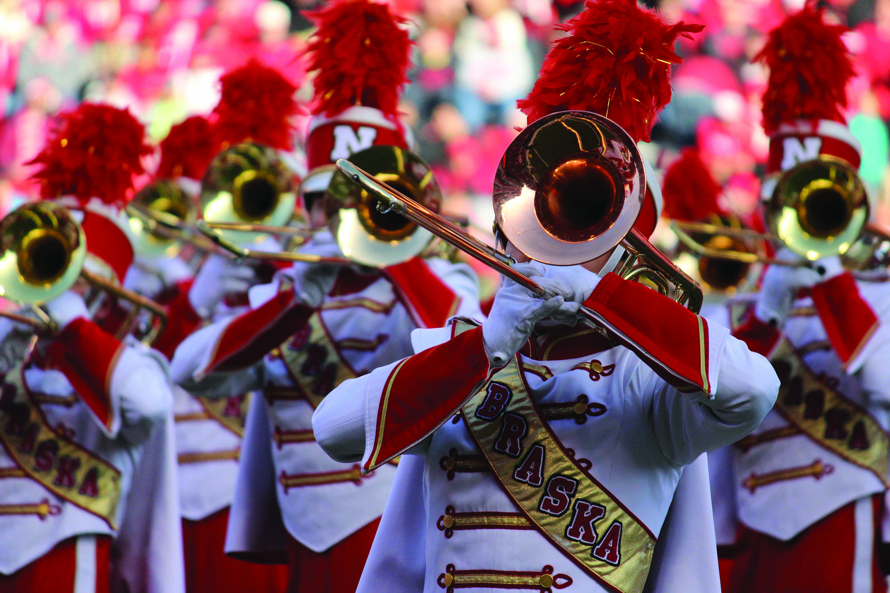 Cornhusker Marching Band Makes Debut On Saturday News