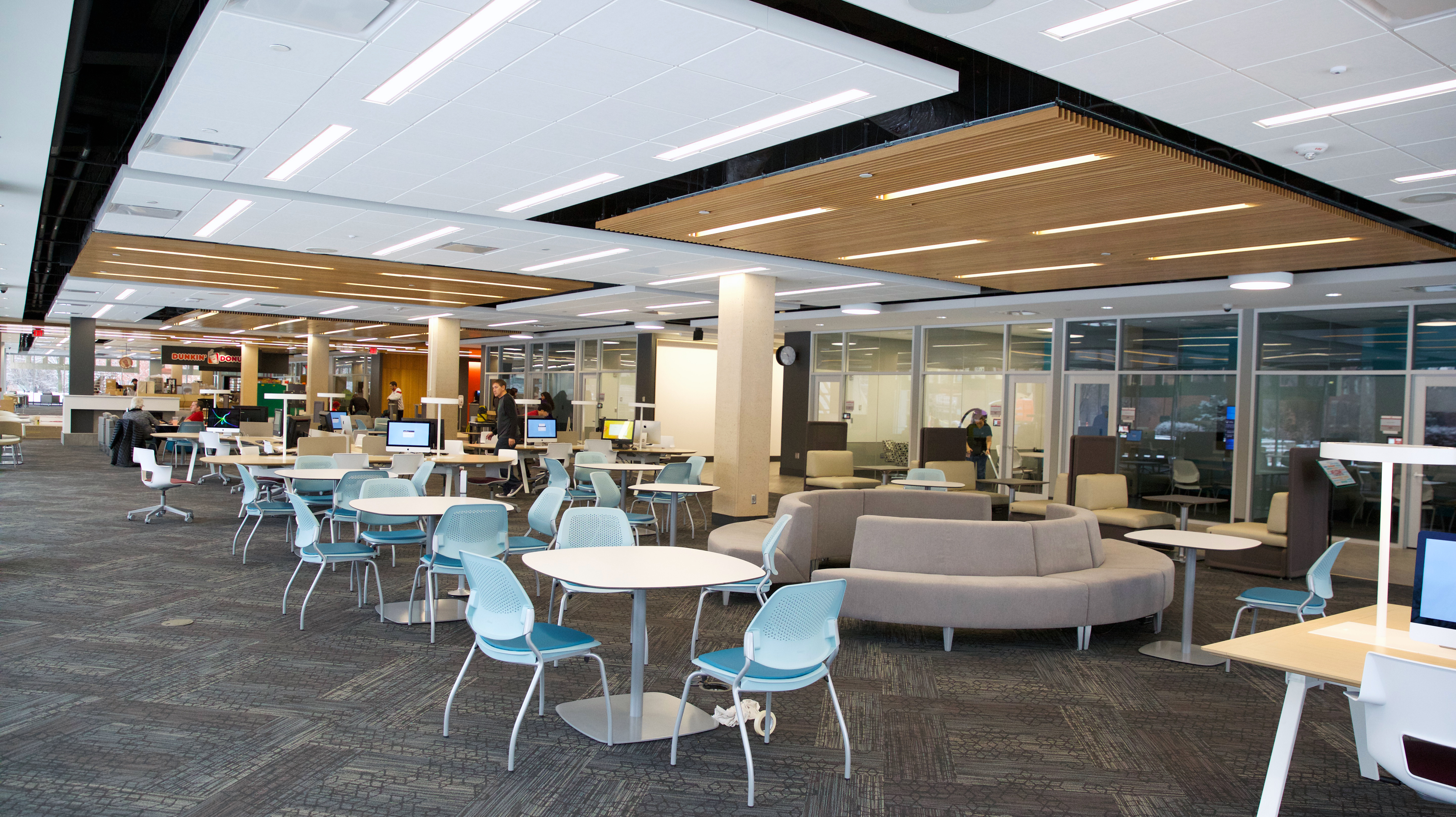 Adele Hall Learning Commons Offers High Tech Space For Unl