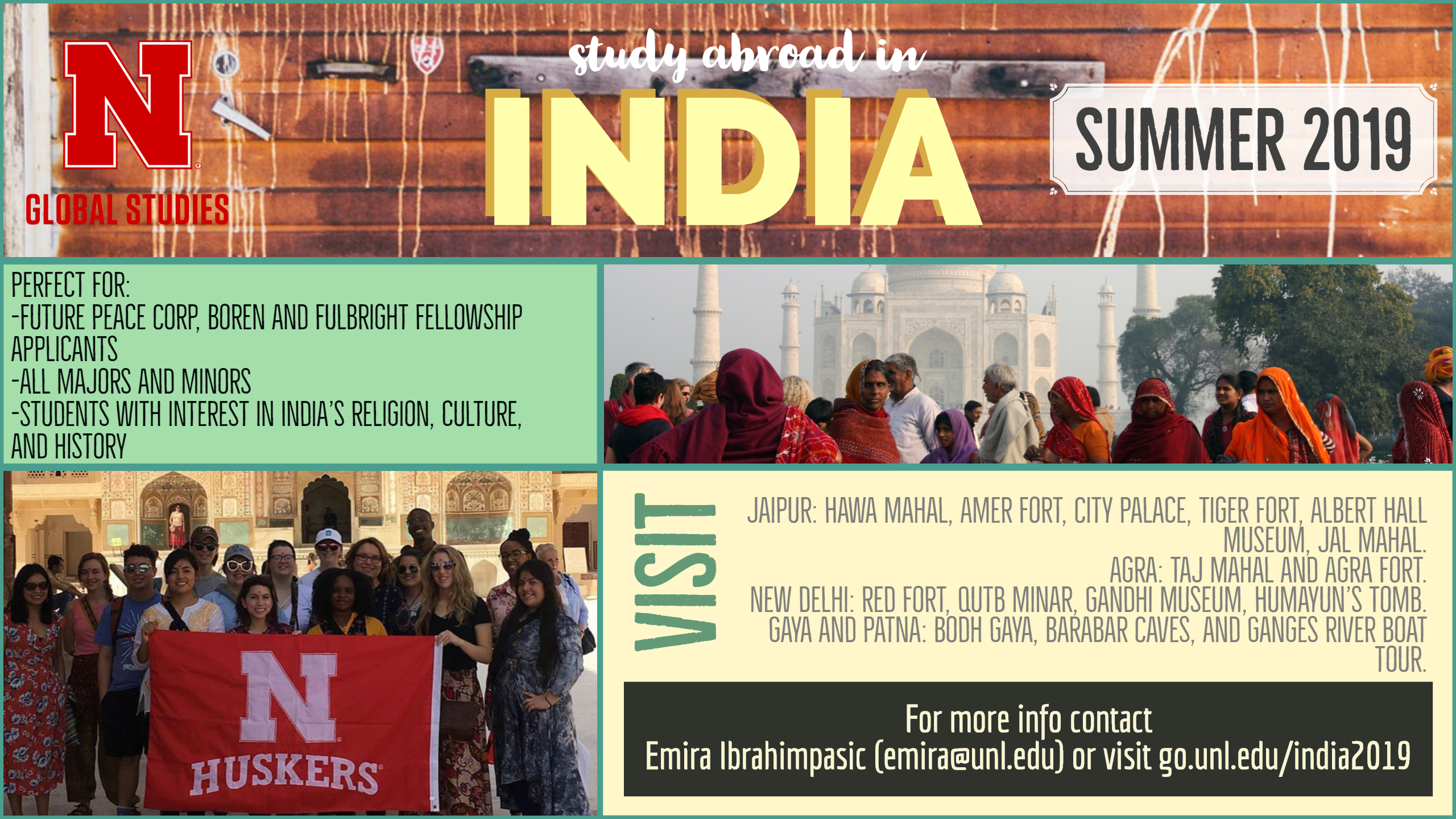 Study Abroad in India | Summer 2019