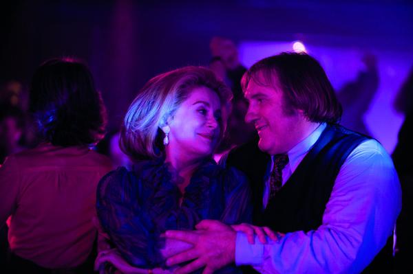 Catherin Deneuve and Gerard Depardieu