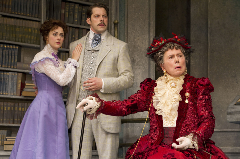 """A scene from Oscar Wilde's """"The Importance of Being Earnest."""" (Courtesy photo)"""