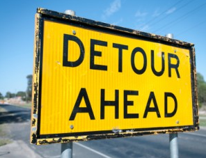 A roads project has closed Holdrege Street near East Campus, from 33rd to 47th streets. Download a detour map at http://go.unl.edu/59y.