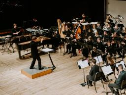 """The Wind Ensemble presents """"Catharsis"""" on Oct. 3 in Kimball Recital Hall."""