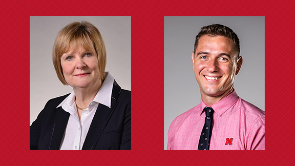 Ali Moeller and Jim Benes will host discussions for students, faculty and staff.