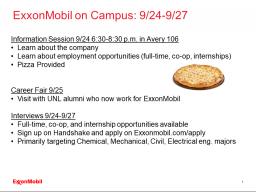 ExxonMobil on Campus