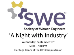 SWE Night with Industry details