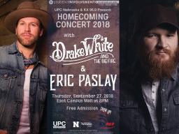 Homecoming concert flier