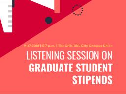 The event is hosted by the Graduate Student Assembly.