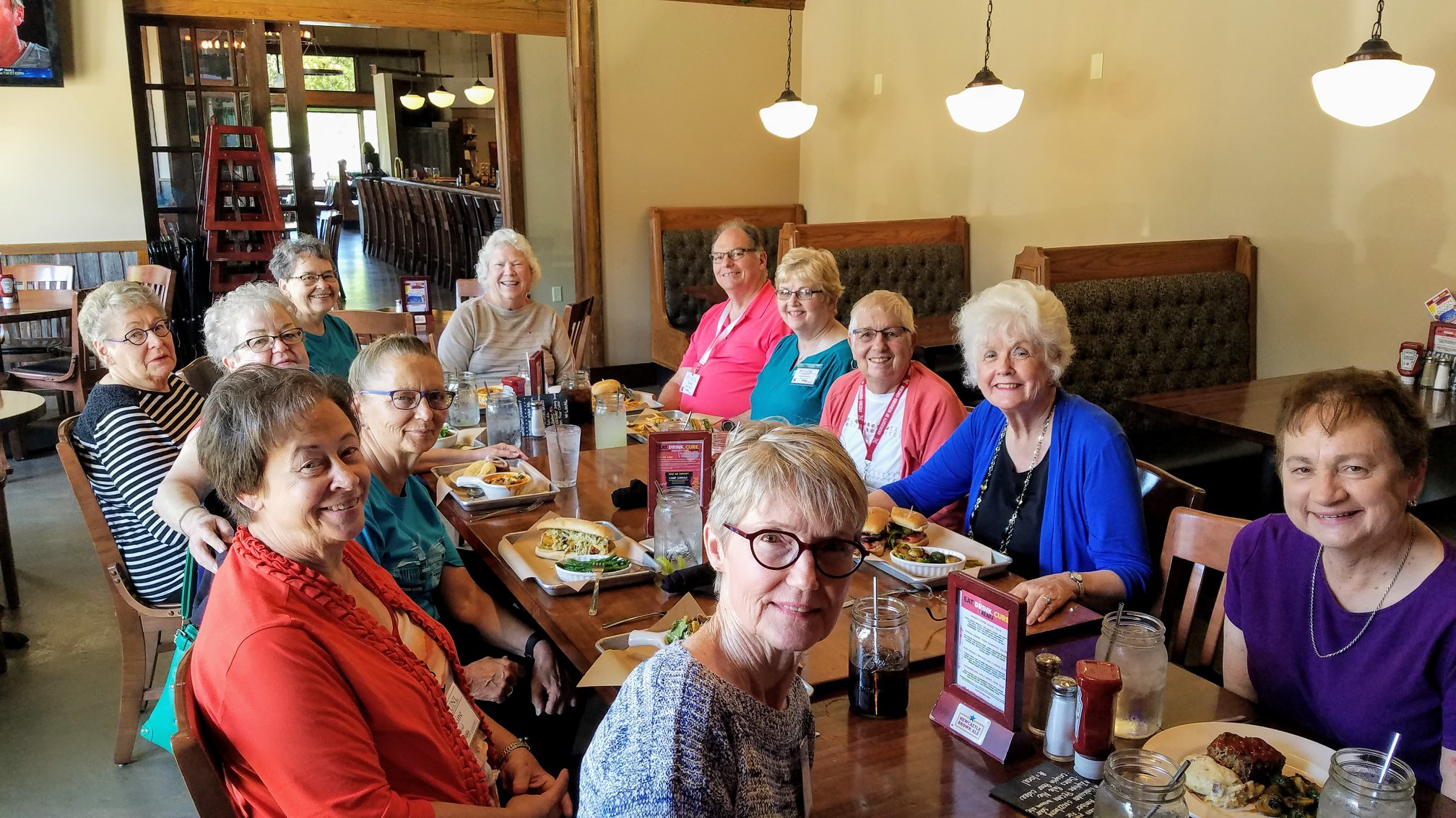 Opportunities to socialize and try Lincoln's many restaurants.
