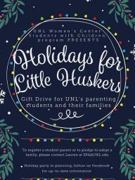 The Students with Children Holiday Drive Poster