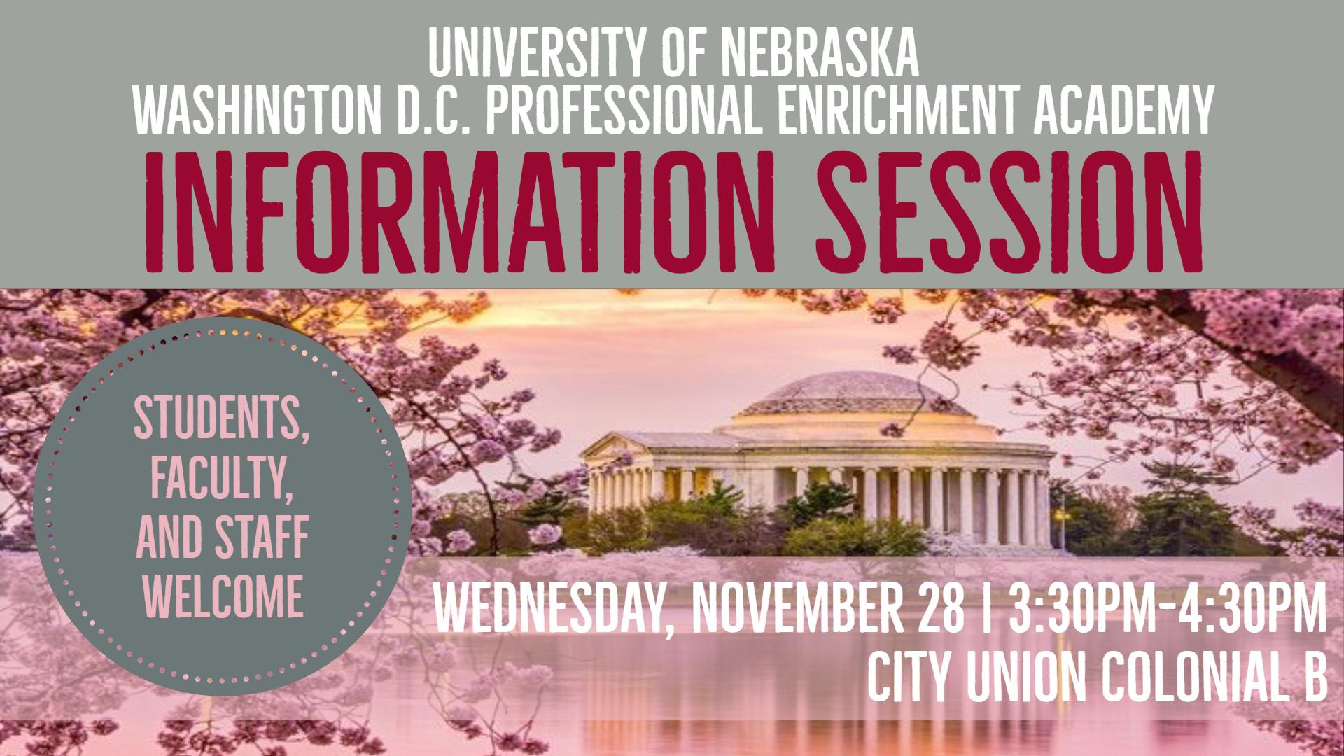 DC Internship Information Session