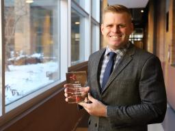 Bill Kreuser awarded NUTech Ventures 2018 Emerging Innovator of the Year.