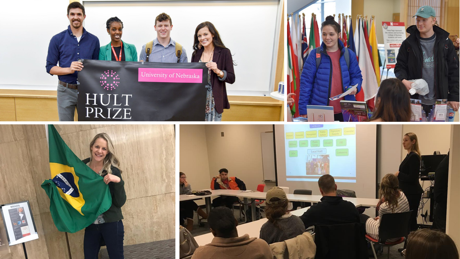 Students participated in more than 30 events on campus during International Education Week.