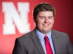 August Graduate Josh Enholm, assistant professional at Champions Run in Omaha, Nebraska