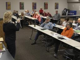 A Master Gardener 2018 training at the Lancaster Extension Education Center.
