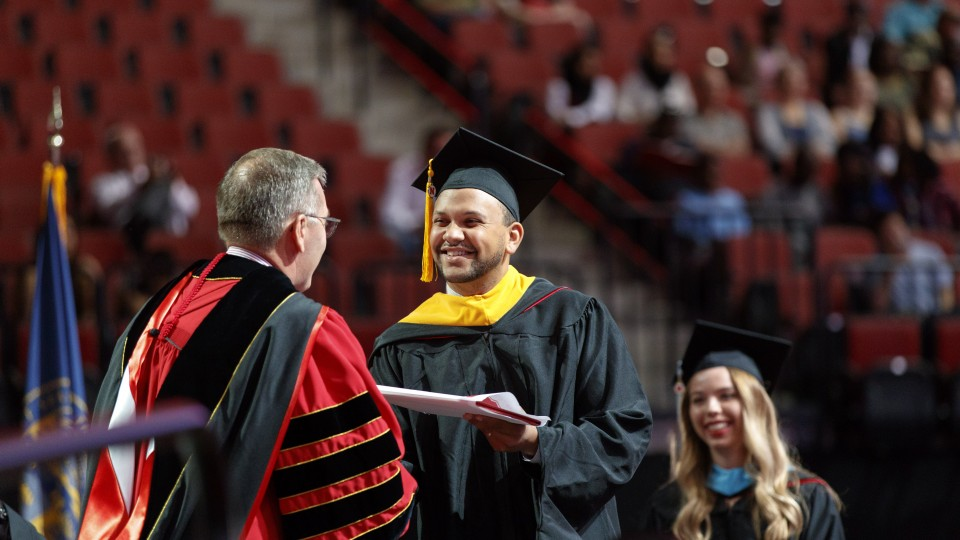 Doctoral graduation information sessions are Jan. 17 and 23.