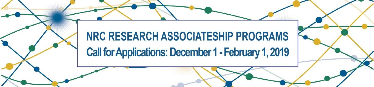 NRC Research Associate Programs reviews begin Feb. 1.