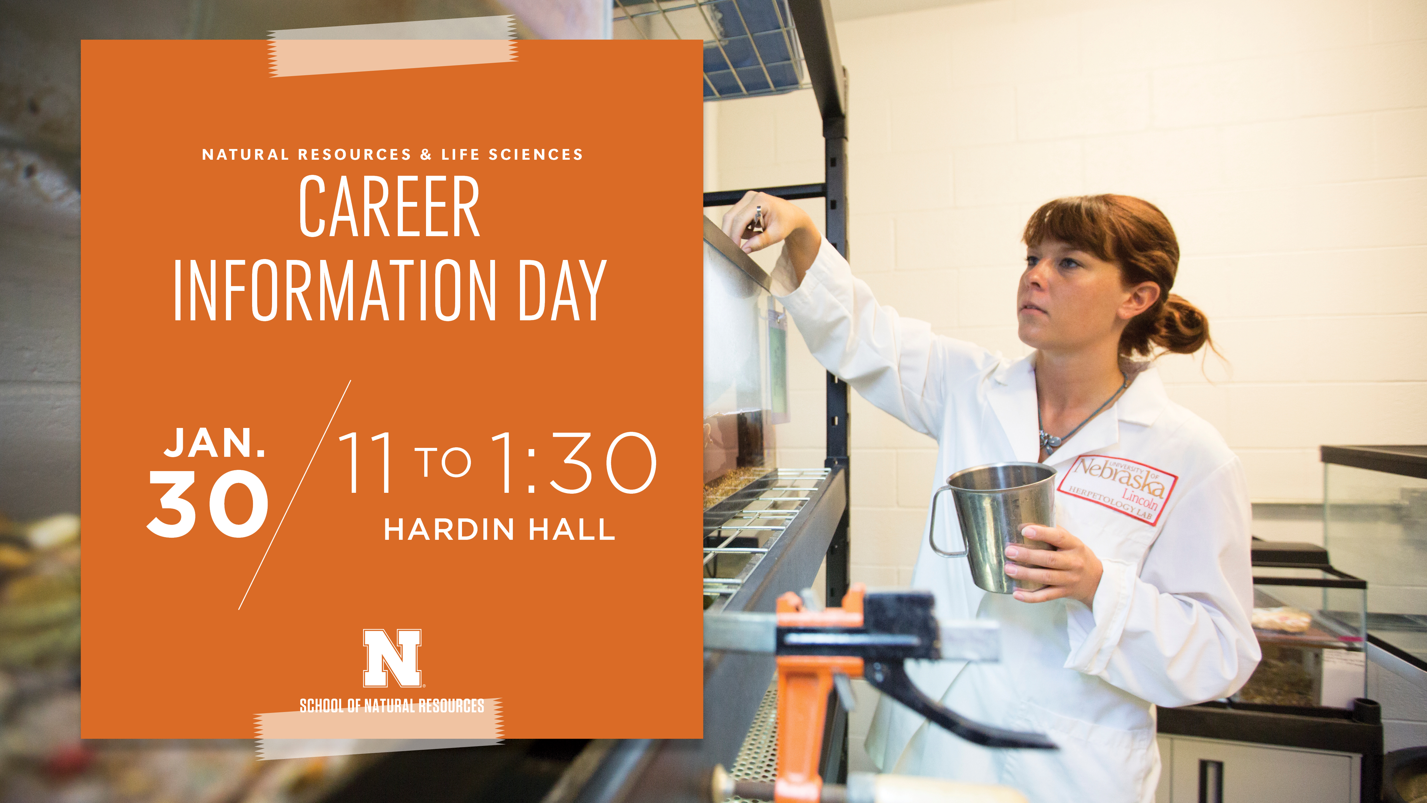 Career Information Day is set for 11 a.m. to 1:30 p.m. Jan. 30 in Hardin Hall.