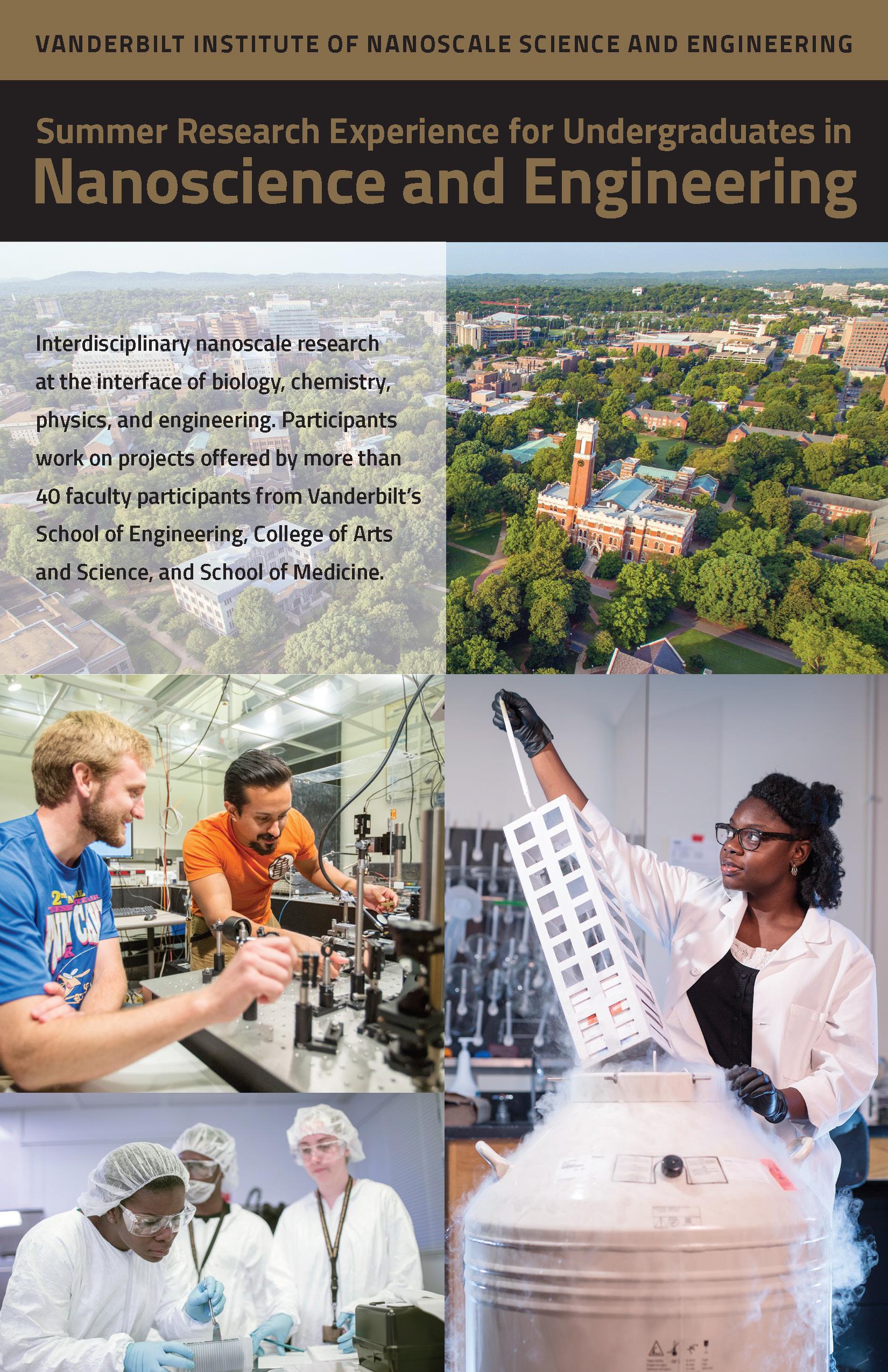 Vanderbilt University Jobs >> Vanderbilt University Reu In Nanoscience And Nanoengineering