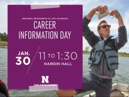 Career Information Day is set for 11 a.m. to 1:30 p.m. Wednesday, Jan. 30, in Hardin Hall.