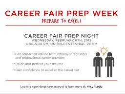 Career Fair Prep Night