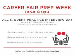 All Student Practice Interview Day
