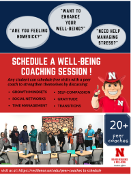 Schedule a well-being coaching session.