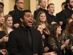 The University Singers have been selected as a semi-finalist in the college/university division of The American Prize in Choral Performance.