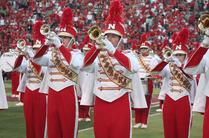 Cornhusker Marching Band Exhibition Show