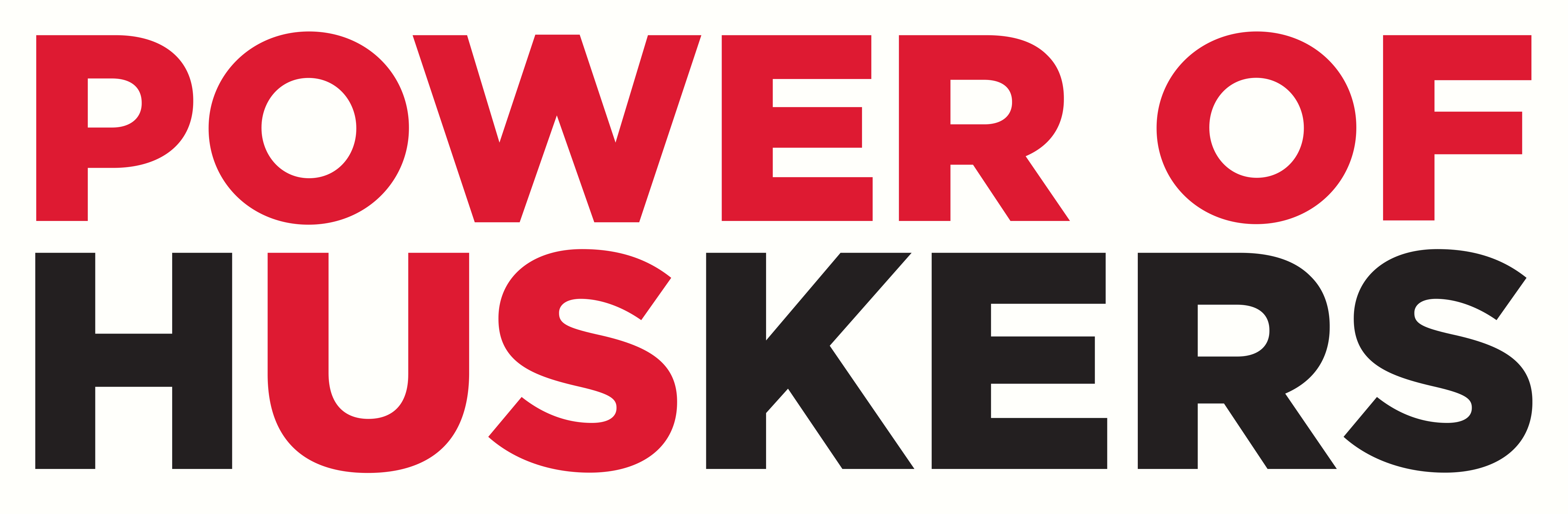 """Power of Huskers"" is the new name for the ""Hate Will Never Win"" diversity and inclusion initiative launched by students in spring 2018. The name has been changed due to a copyright issue. 