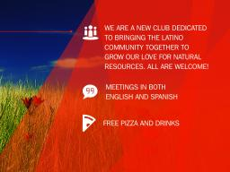 Latins for Natural Resources will host their first meeting Feb. 27 in the Jackie Gaughan Multicultural Center, 1505 S Street, Lincoln.