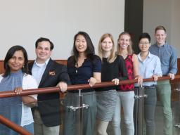 2018-19 interns at NUtech Ventures.