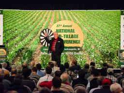 Paul Jasa presenting to a conference audience