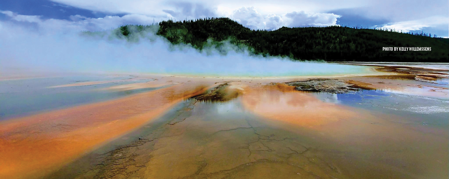 Yellowstone National Park thermal springs | Courtesy Kelly Willemssens