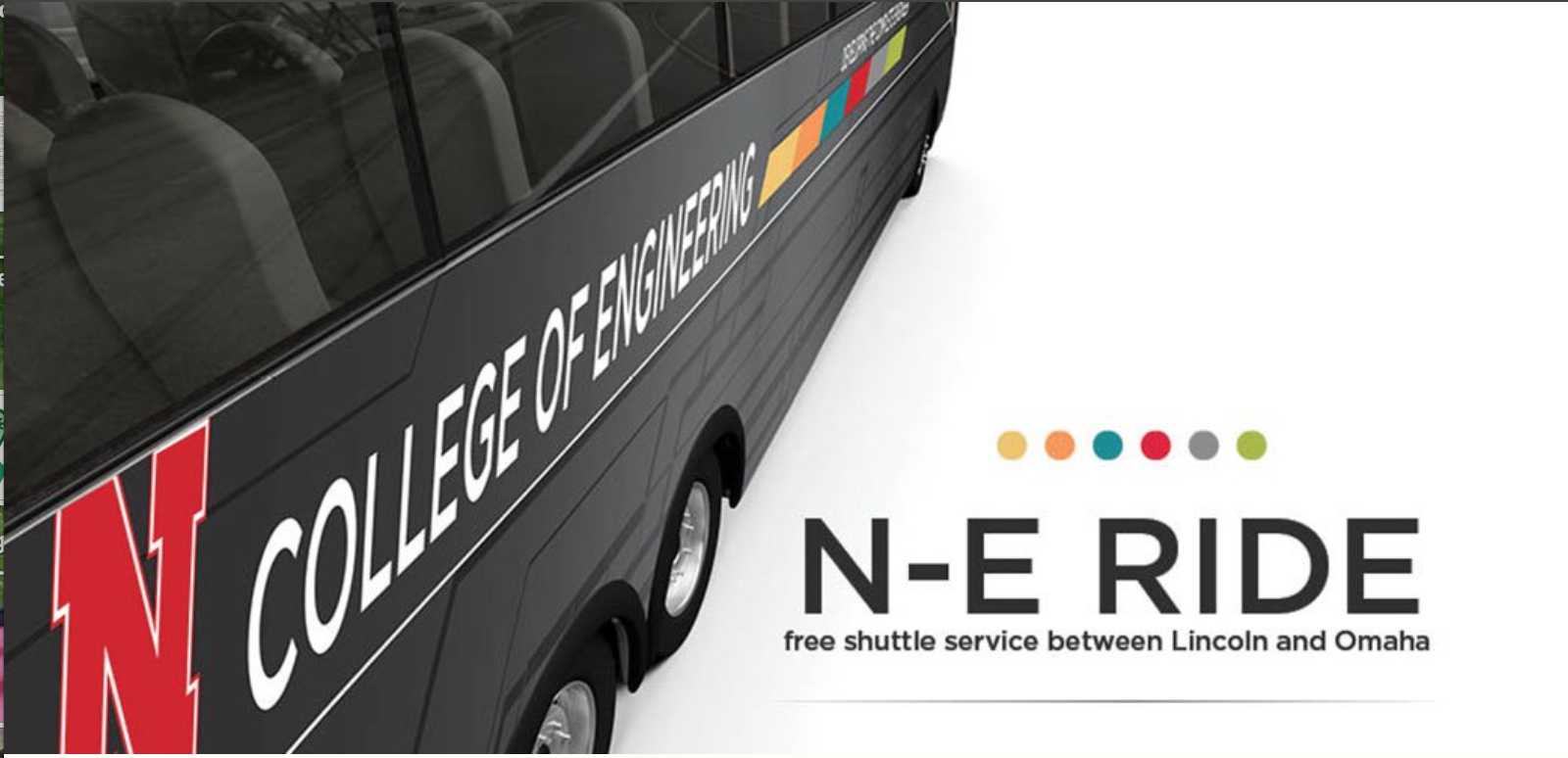 N-E Ride will have priority seating for its shuttle service on both March 15 and March 25.