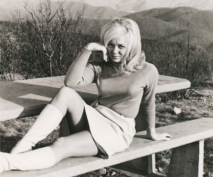 """Joyce McKinney, the former Miss Wyoming who is featured in the film """"Tabloid."""""""