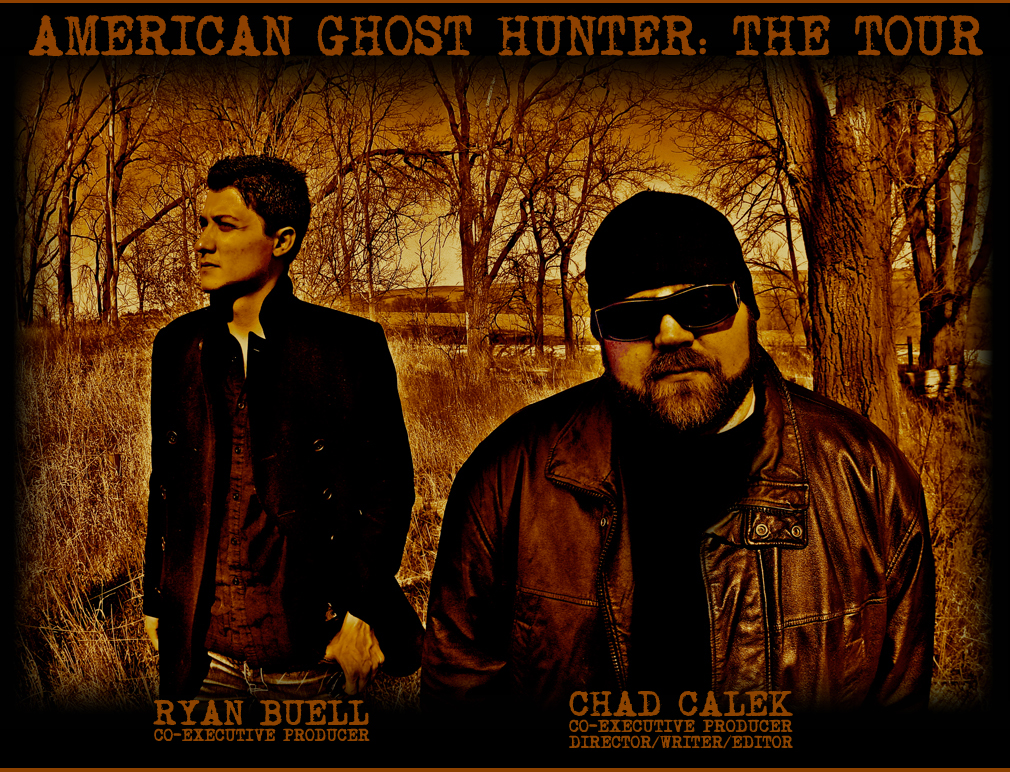 """Ryan Buell and Chad Calek of """"American Ghost Hunter"""""""