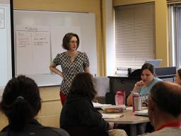 Lorraine Males teaches TEAC 808E