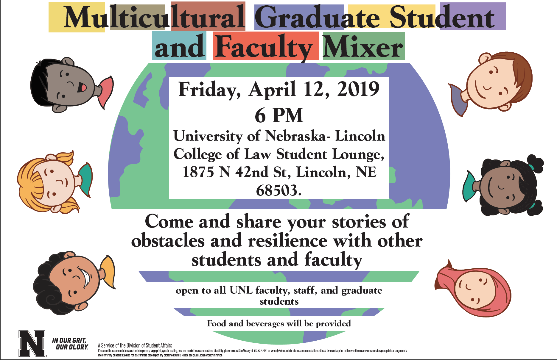 Multicultural Graduate Student and Faculty Mixer, April 12