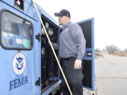 FEMA worker