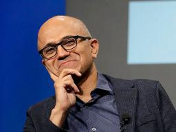 Microsoft CEO Satya Nadella (pictured) and Jeff Raikes, co-founder of the Raikes Foundation, will speak at the Lied Center on April 18.
