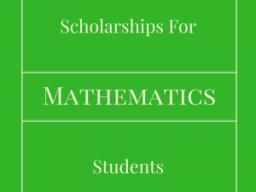 Math Scholarships