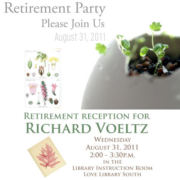Richard Voeltz retirement