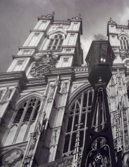 Entrance to Westminster Abbey in London, England. Photo by Blaine Muhle, senior, Journalism and Mass Communications.