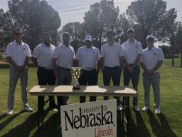 Left to right includes Cordell Weber, Bill Rheily, Coach Scott Holly, Joel Johnson, Jason Palmer, Josh Baldus, and Kyle Murray