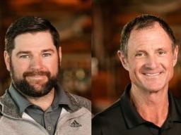 PGA Professionals Alex Carper and Mike Schuchart