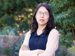 Jessica Namkung, assistant professor of special education and communication disorders, is exploring ways to help students with math learning difficulties prepare for algebra.  Kyleigh Skaggs | CYFS
