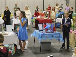 2019 4-H Table Setting Contest at Lancaster County Super Fair