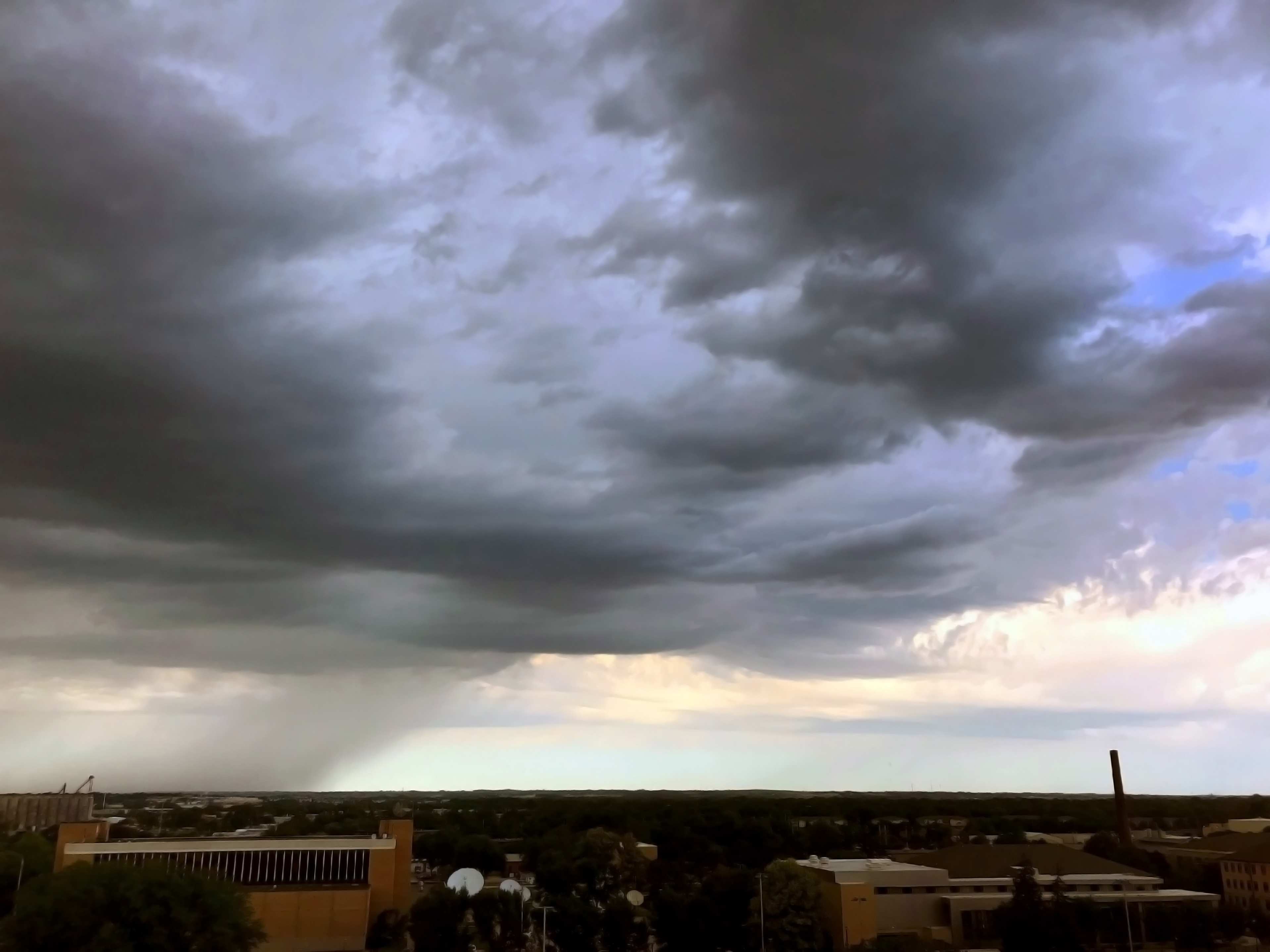 A storm rolls in over Lincoln, Nebraska, on June 25, 2019. | Shawna Richter-Ryerson, School of Natural Resources