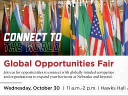 Global Opportunities Fair Oct. 30th 11AM-2PM